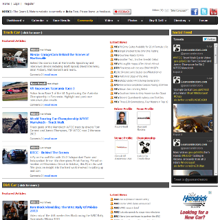 Motor Sport Social Network Website