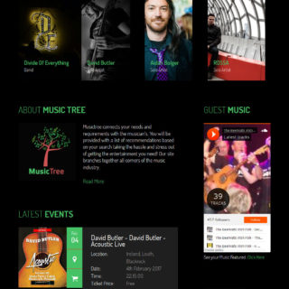 Music Tree – Band and Fan Social Network